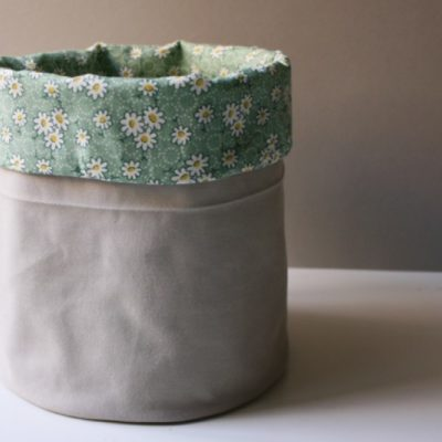 DIY Fabric Bucket