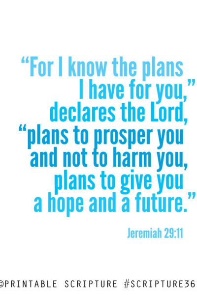 Tuesday Truth: Your Plans, My Plans, His Plans !