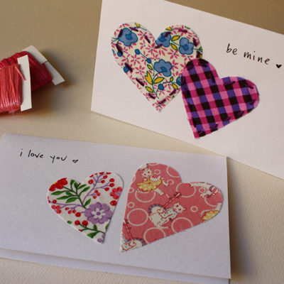 Sew In Love V-day Card