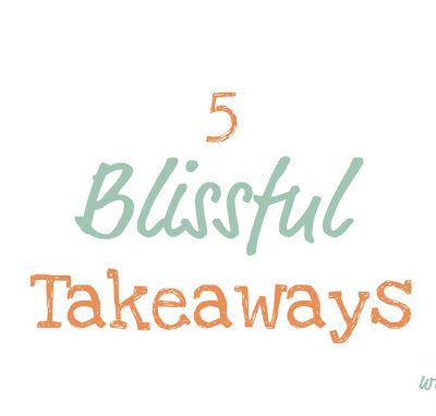 5 Blissful Blogging Tips