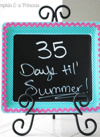 Summer Countdown Craft