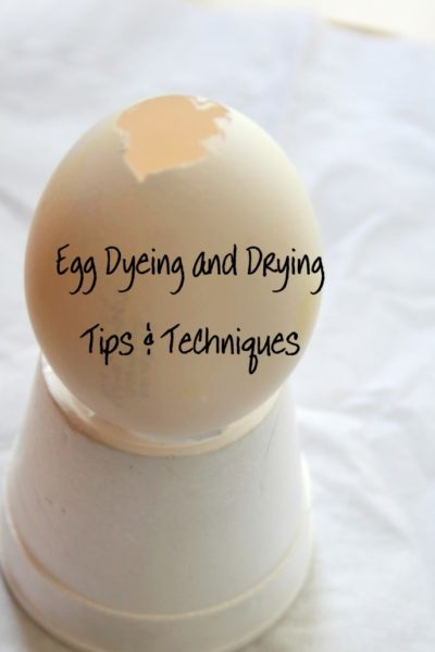 Egg Dyeing and Drying Tips & Techniques