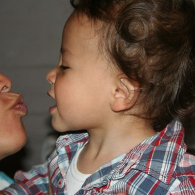 Do you kiss your kids on the lips?