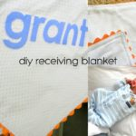 DIY Receiving Blanket Tutorial