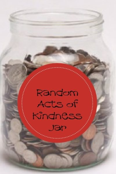 Random Acts of Kindness Coin Jar