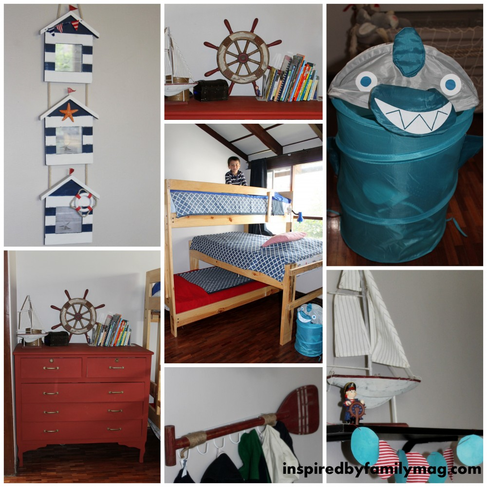 Boys Room: Nautical Or Pirate Boys Room On A Budget