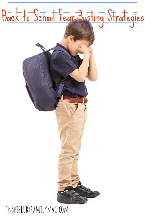 back to school fear busting