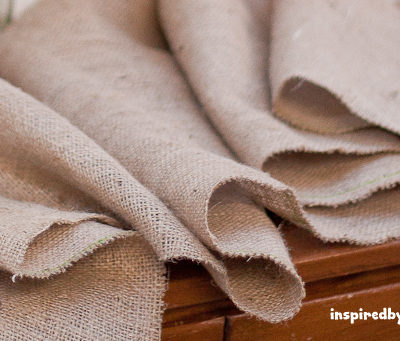 5 Ways to Keep Burlap From Unraveling