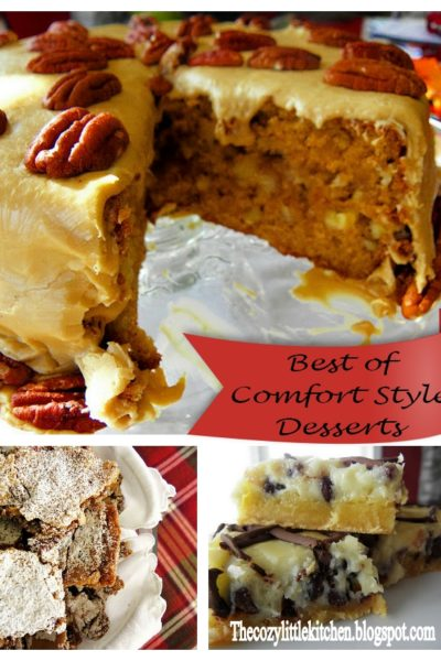 Top 3 Comfort-Style Desserts