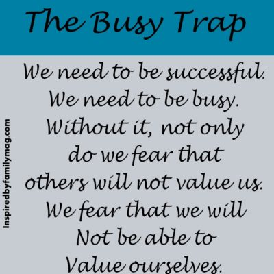 The Busy Trap
