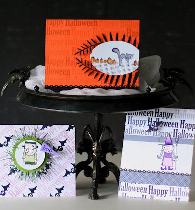 DIY Halloween Card Creations