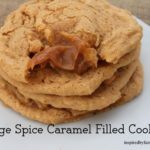 Orange Spice Caramel Filled Cookies