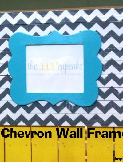 Chevron Wall Frame