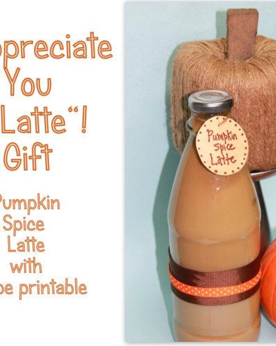 Starbucks Your Way -Pumpkin Spice Latte