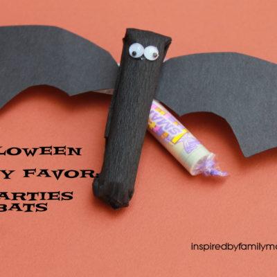 Halloween Party Treats: Smarties Bats
