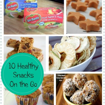 10 Healthy Snacks on the Go Kids Love