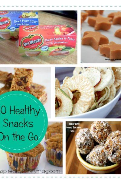 10 Healthy Snacks on the Go Kids Love