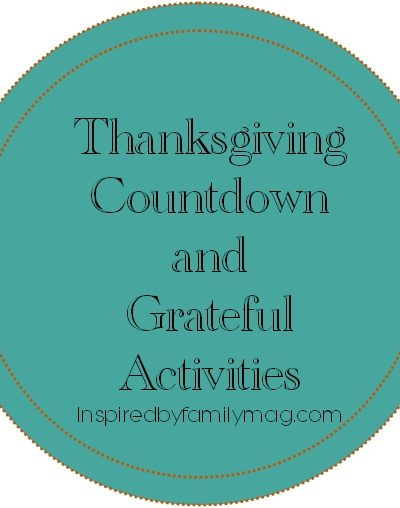 Thanksgiving Countdown and Grateful Activities