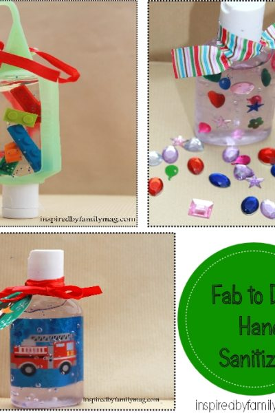 Handmade Gifts: From Drab to Fab Hand Sanitizers