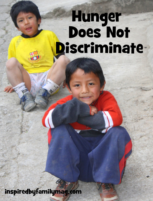 hunger does not discriminate