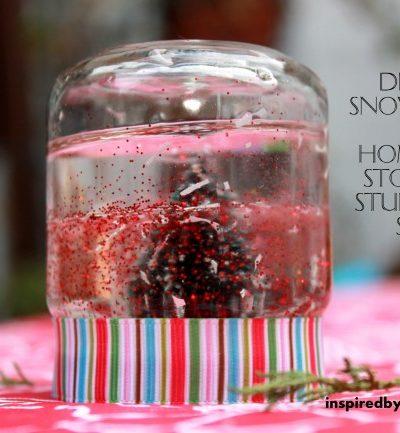 DIY Mini Snow Globe: Homemade Stocking Stuffer Gift