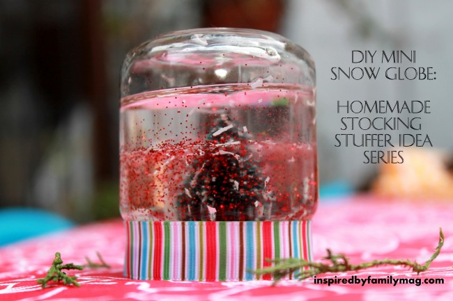 Christmas Gift Ideas For Kids Diy.Diy Mini Snow Globe Homemade Stocking Stuffer Gift