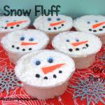 Winter Party Favors: DIY Snow Dough
