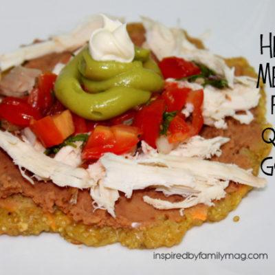Healthy Mexican Food: Quinoa Gorditas