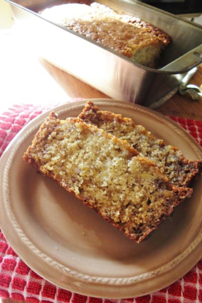 Breakfast Bread: Moist Banana Bread with Orange Glaze