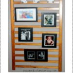Repurposed Crib Project: Photo Wall Display