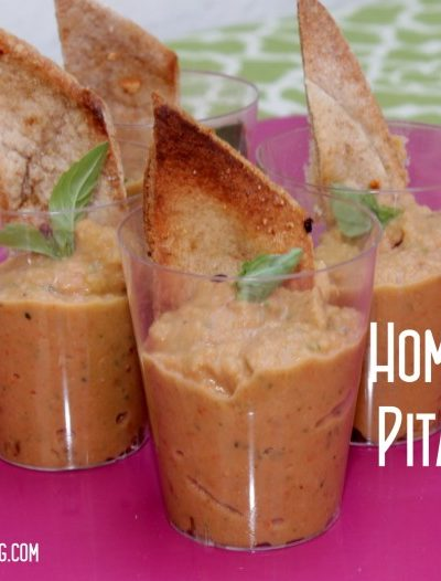 Healthy Snacking: Pita Chips {Homemade}