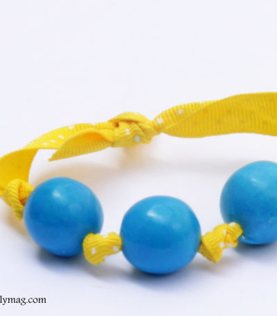 Kids Craft: Gumball Bracelets