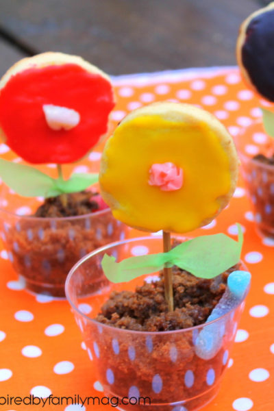 Cooking with Kids: Edible Dirt Flower Pots