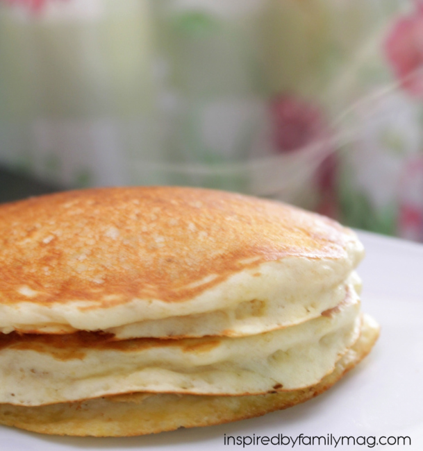 easy fluffy pancakes