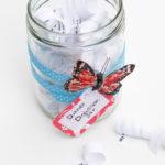 Repurposed Jar Craft: Dinner Discussion Ideas Jar