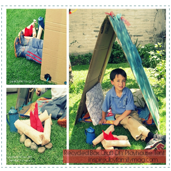 diy playhouse tent