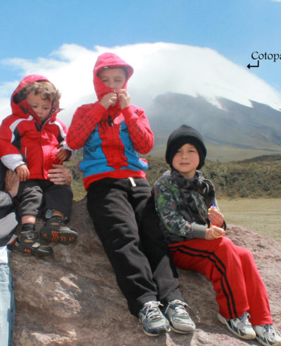 Exploring Cotopaxi Volcano in Ecuador with Kids