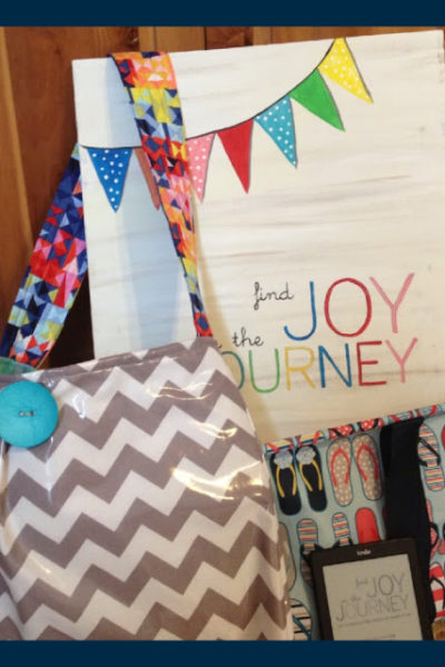 Finding Joy in the Journey & Giveaway