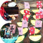 Simple Summer Snack: Jello Pirate Ship Cups