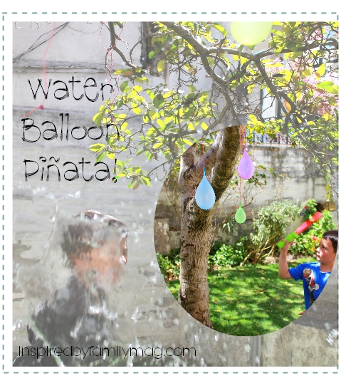 water balloon pinata