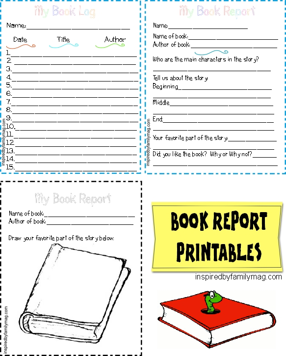 picture regarding Free Printable Book Report Forms identified as Printable Guide Write-up Varieties Essential - Influenced by means of Relatives