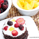 Easy Dessert: Brownie Fruit Pizza