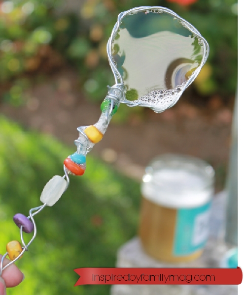 diy bubbles solution and wand