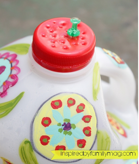 recycled bottle craft