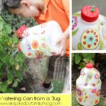 Recycled Bottle Craft: Watering Can