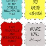 4 You Are Loved Printable Reminders