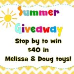 End of Summer Giveaway {Melissa & Doug Toys}