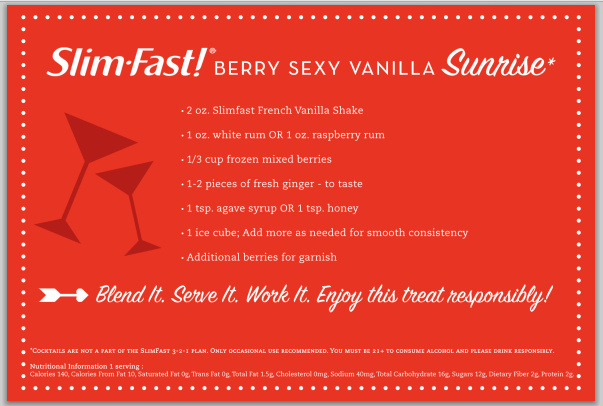 Berry Sexy Vanilla Cocktail Recipe