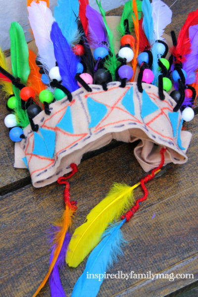Native American Craft for Kids: Chief Headdress