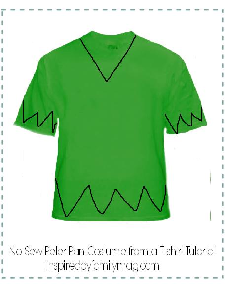 Peter pan pattern worksheet for preschool peter best for Peter pan shirt pattern